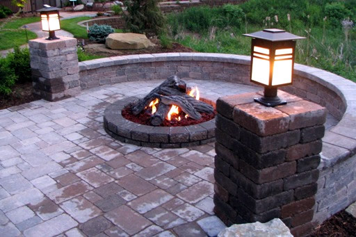 Outdoor Gas Fire Pits  Innovative Outdoor gas fire pit