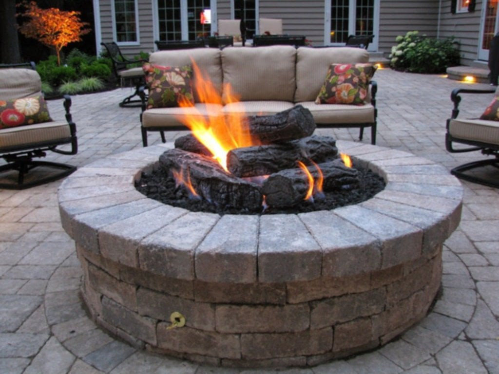 Outdoor Gas Fire Pits  All About Gas Outdoor Fireplaces Fire Pits