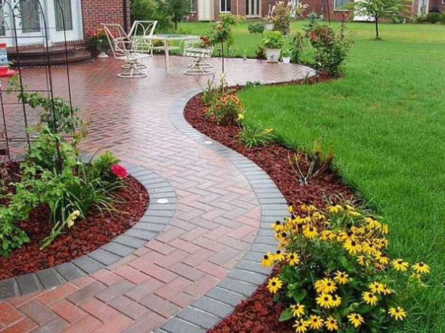 Outdoor Landscape Borders Beautiful Creative Design Ideas for Garden Edging Landscape