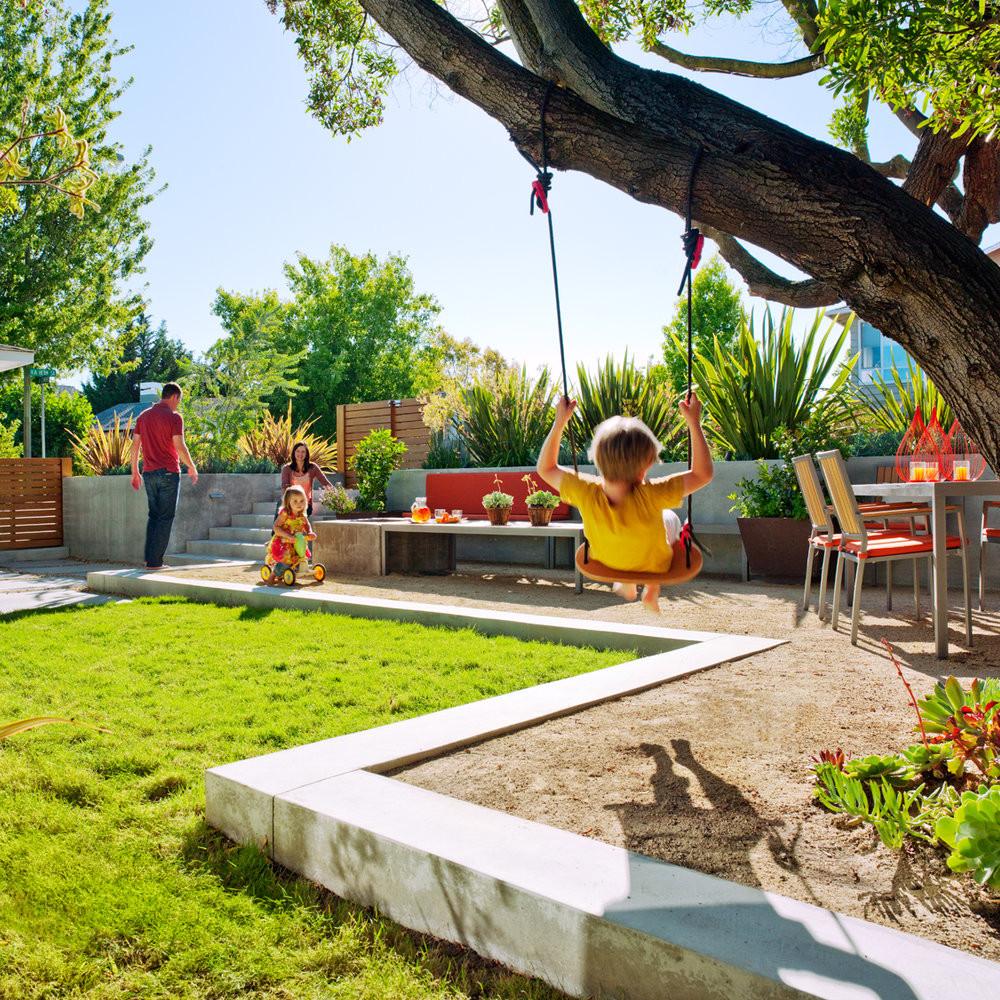 Outdoor Landscape Fun  Let your kids have fun with Kid friendly garden design