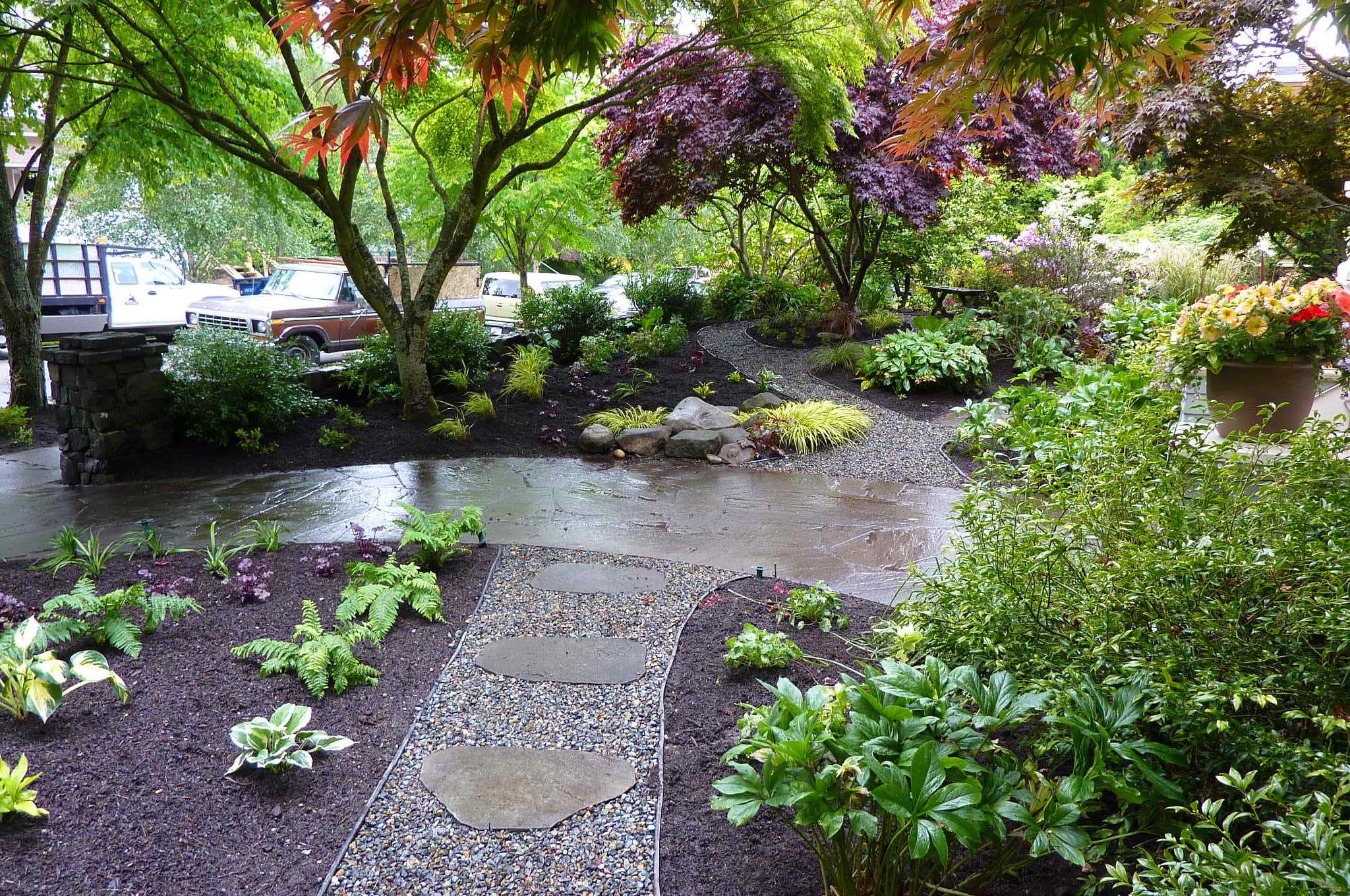 Outdoor Landscape Hill  Capitol Hill Garden Design plete