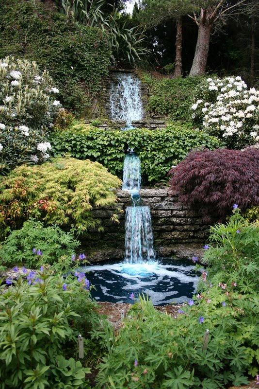 Outdoor Landscape Hill  Cross Hills Gardens