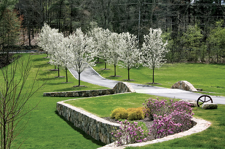 Outdoor Landscape Hill  Garden Design hill landscape design
