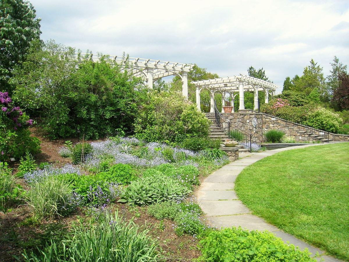 Outdoor Landscape Hill  Tower Hill Botanic Garden