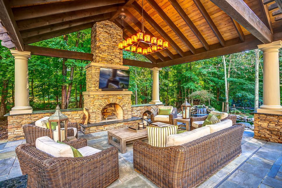 Outdoor Living Space Ideas  20 Outdoor Living Room Designs Decorating Ideas
