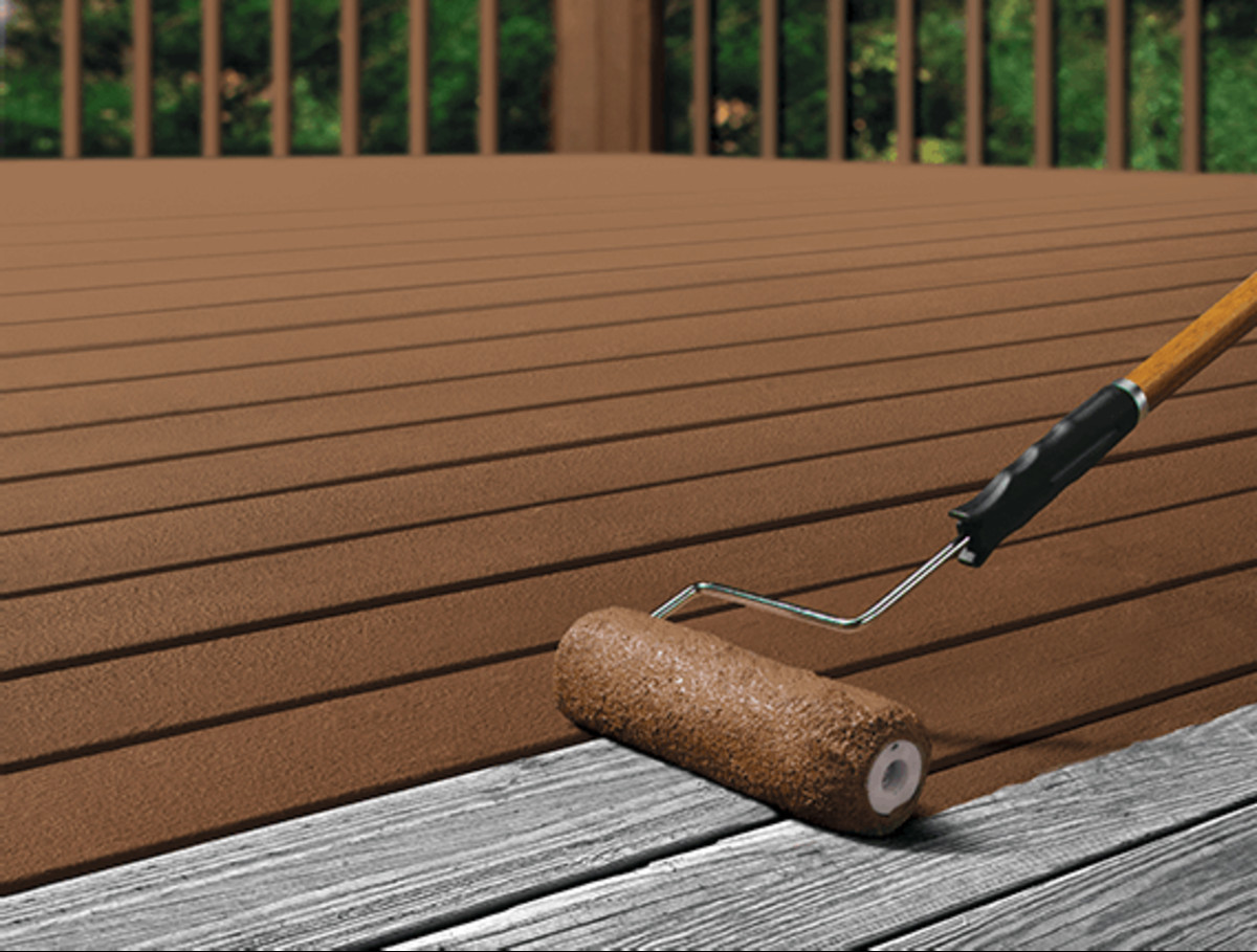 Paint Or Stain Deck  What Is The Best Way To Stain A New Deck