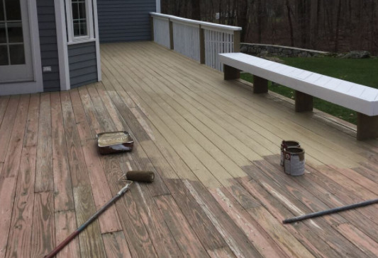 Paint Or Stain Deck  Is It Better to Paint or Stain My Deck