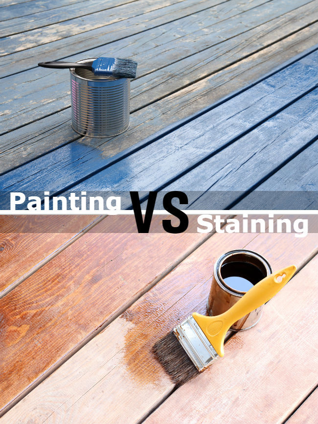 Paint or Stain Deck Luxury Painting Vs Staining A Deck 7 Big Differences