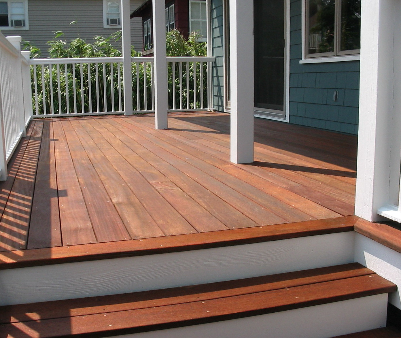 Paint Or Stain Deck  Solid Deck Stain Vs Paint