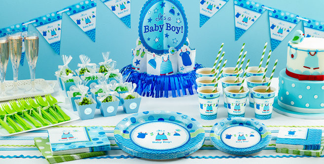 Party City Baby Shower Decorations  It s a Boy Baby Shower Party Supplies Party City