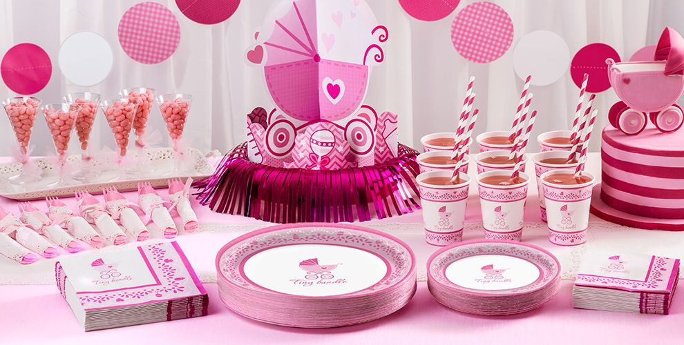 Party City Baby Shower Decorations  Celebrate Girl Baby Shower Supplies Party City