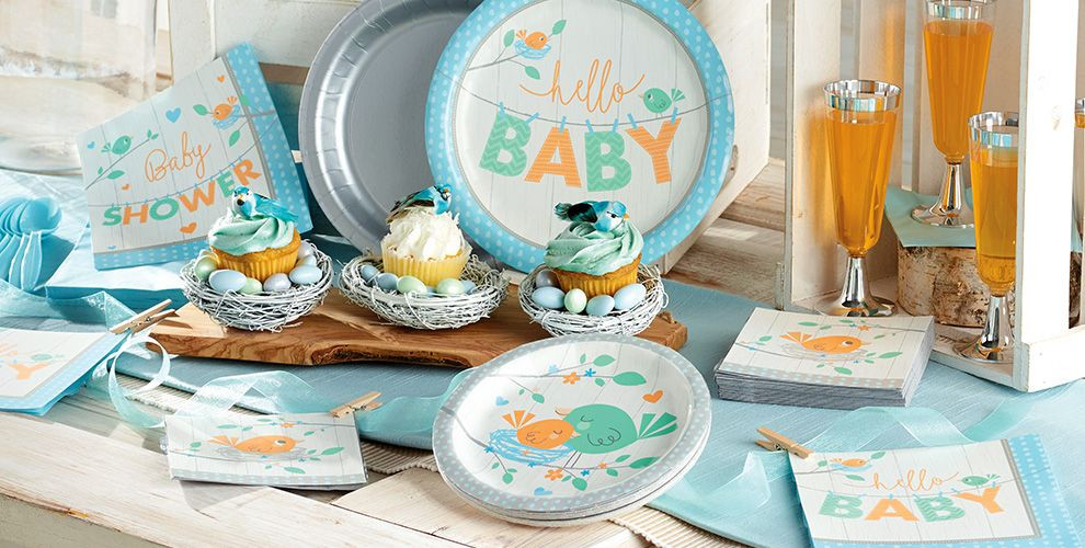 Party City Baby Shower Decorations  Hello Boy Baby Shower Party Supplies