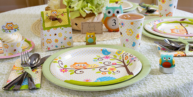 Party City Baby Shower Decorations  Owl Baby Shower Party Supplies Party City