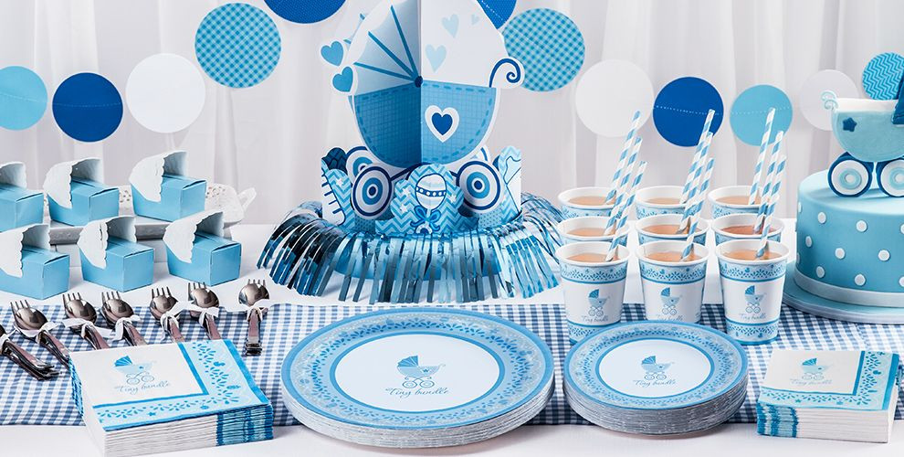 Party City Baby Shower Decorations  Celebrate Boy Baby Shower Supplies Party City
