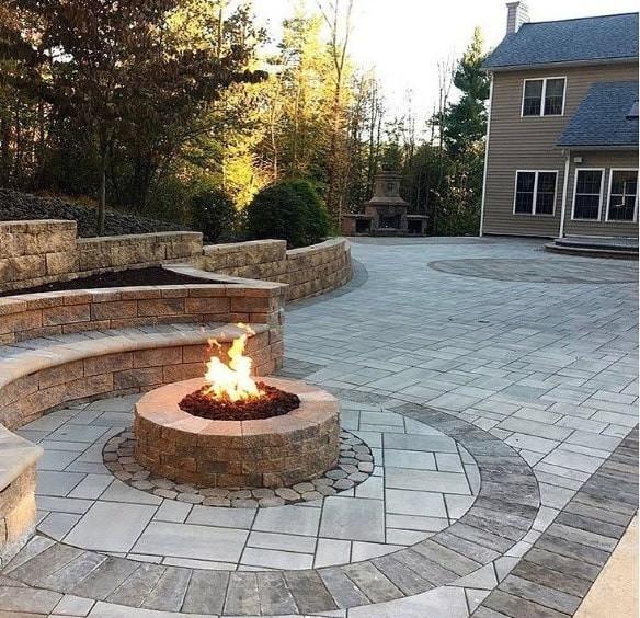 Patio With Fire Pit Ideas  Top 60 Best Fire Pit Ideas Heated Backyard Retreat Designs