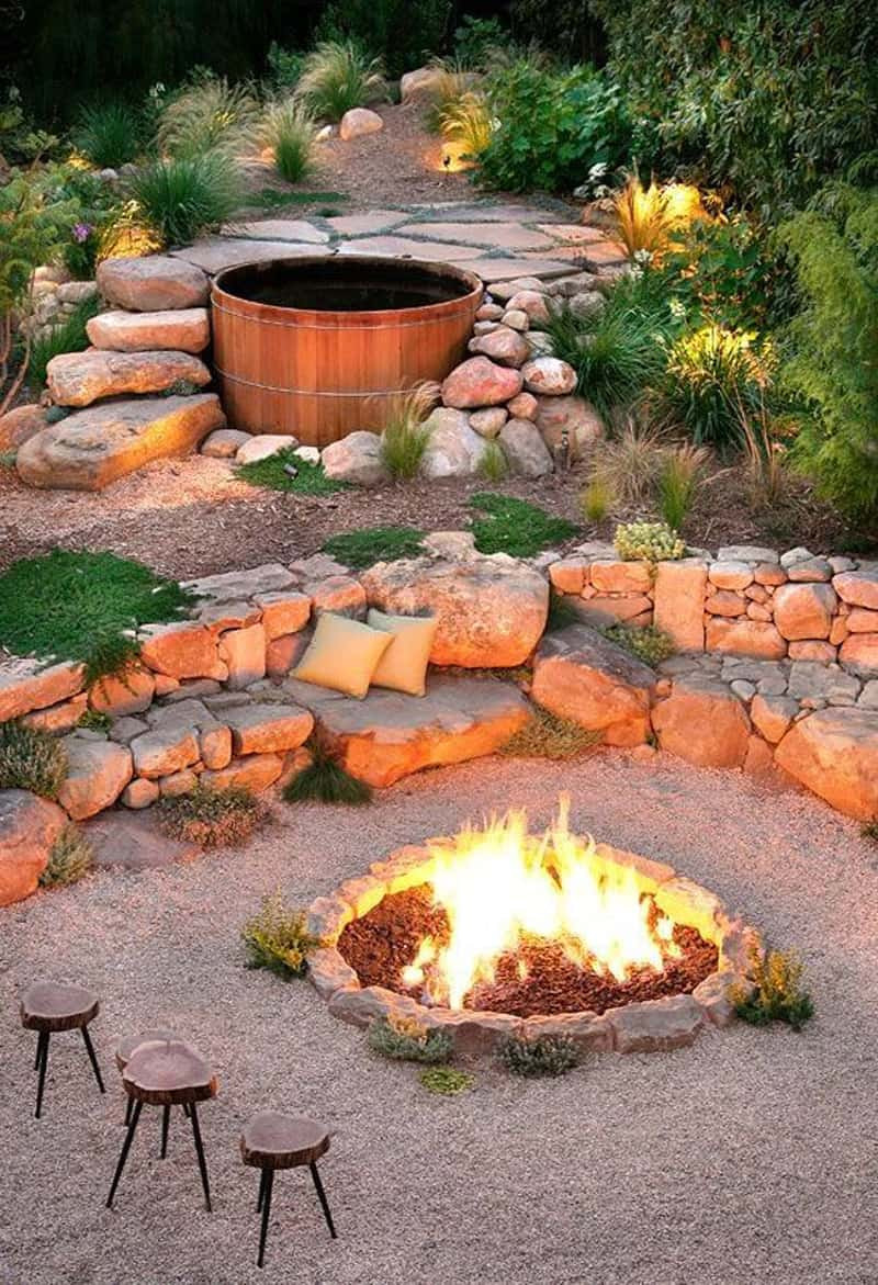 Patio with Fire Pit Ideas Inspirational Best Outdoor Fire Pit Ideas to Have the Ultimate Backyard