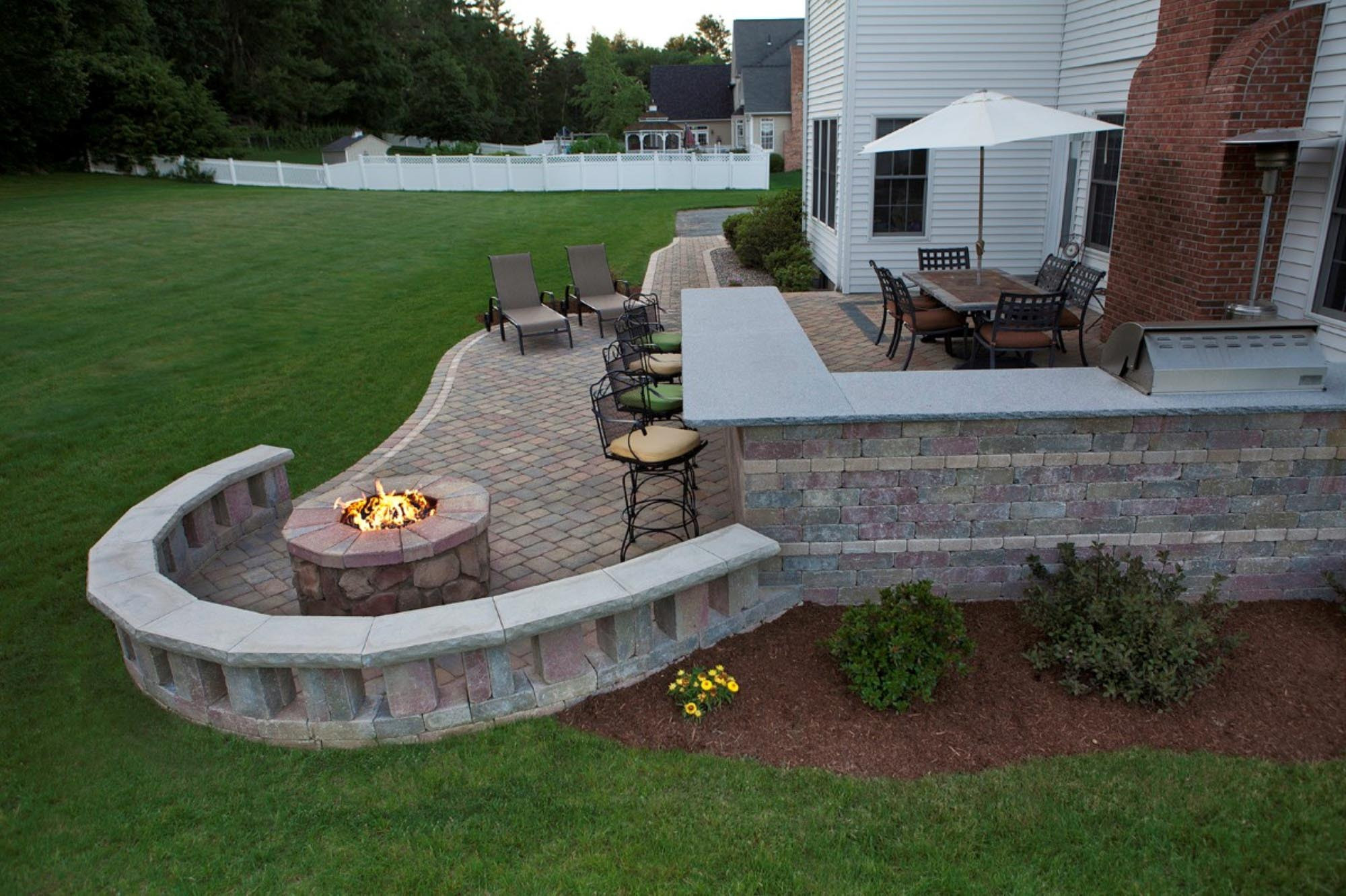 Patio With Fire Pit Ideas  Everyone Needs a Small Fire Pit