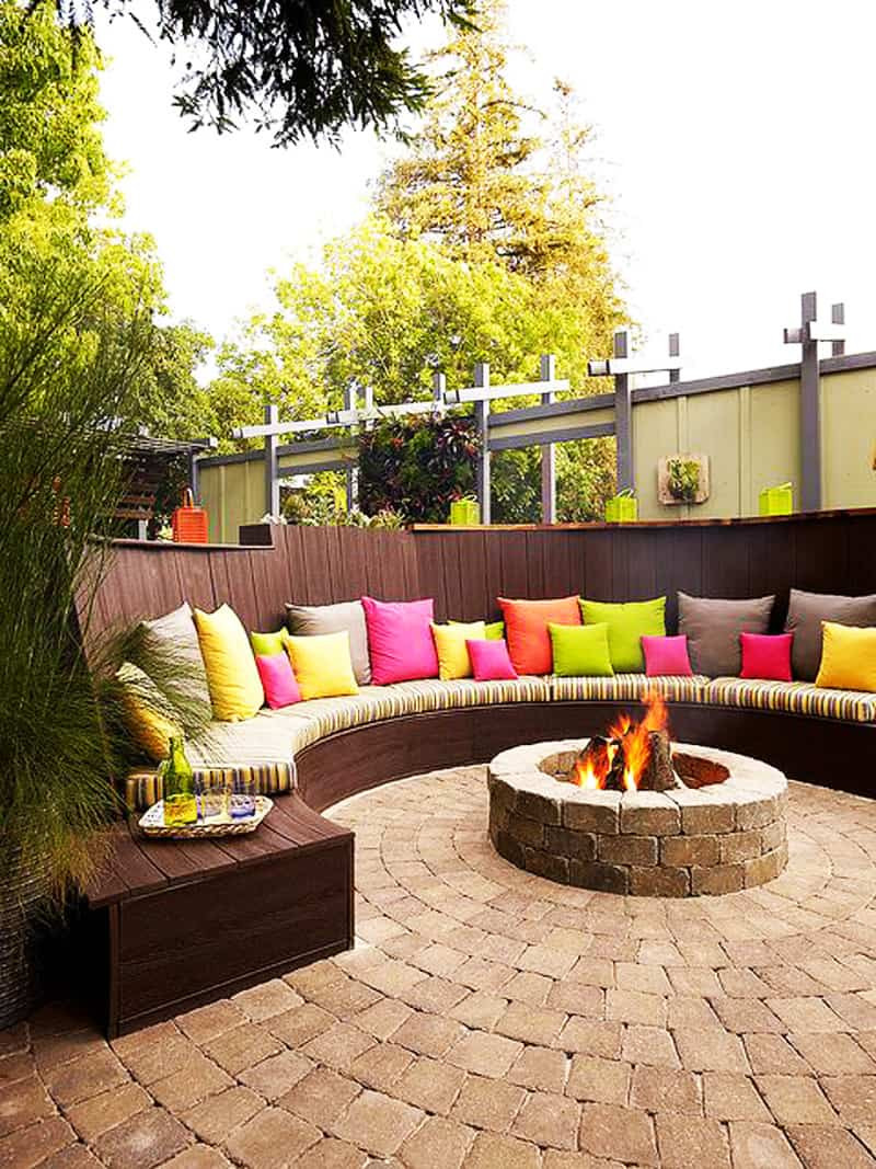 Patio With Fire Pit Ideas  Best Outdoor Fire Pit Ideas to Have the Ultimate Backyard