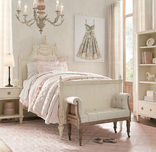 Pink Shabby Chic Bedroom  22 Shabby Chic Furniture Ideas
