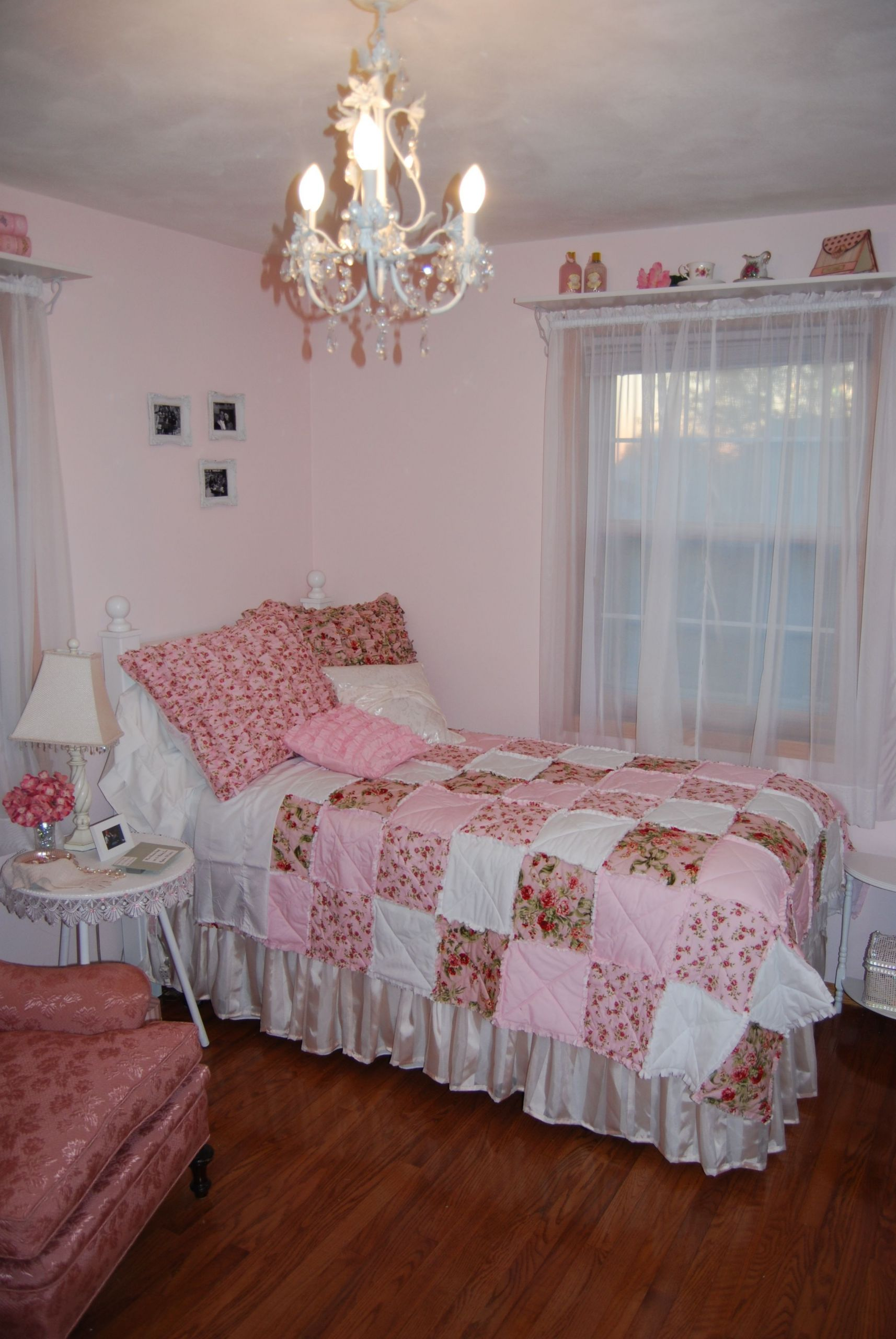 Pink Shabby Chic Bedroom Elegant Pink Shabby Chic Bedroom Masterbedroom
