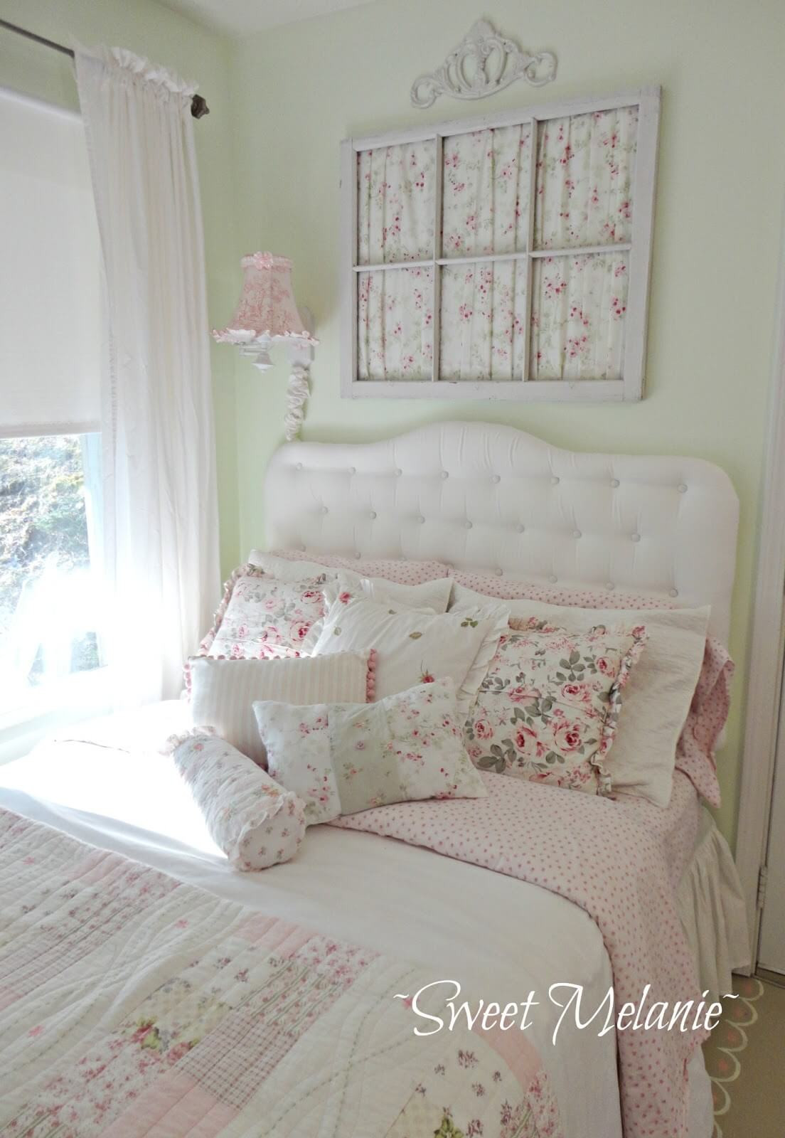 Pink Shabby Chic Bedroom  35 Best Shabby Chic Bedroom Design and Decor Ideas for 2017