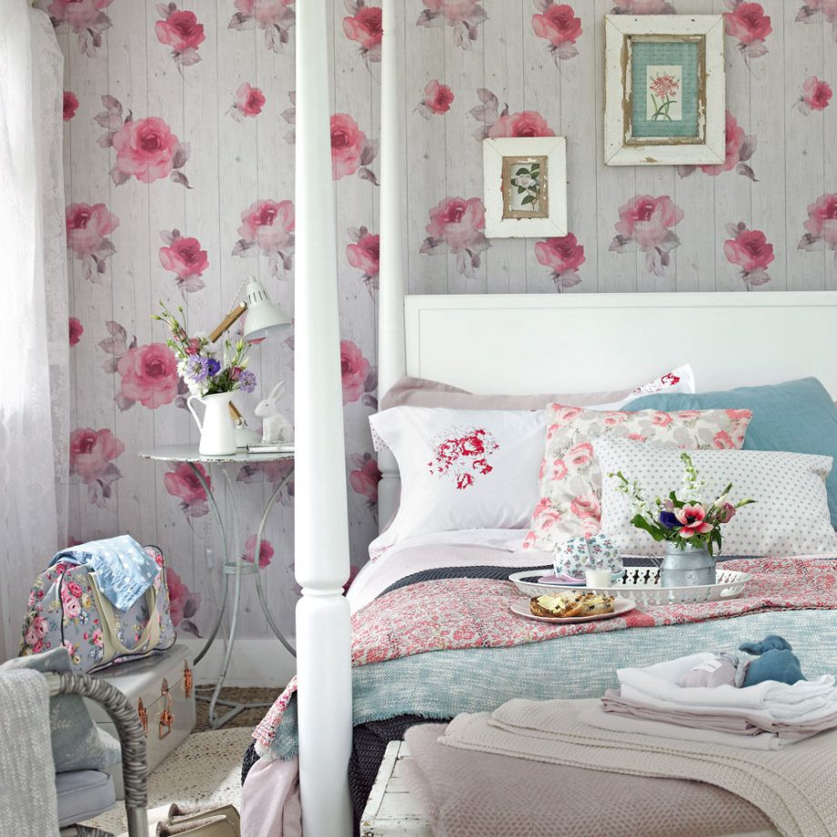 Pink Shabby Chic Bedroom  Shabby chic bedrooms