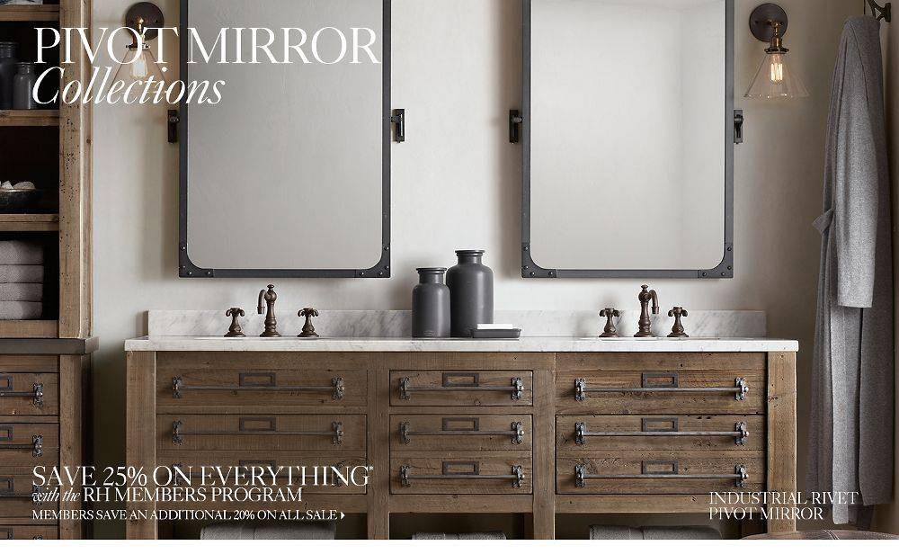 Pivoting Mirror Bathroom  15 of Pivoting Wall Mirror