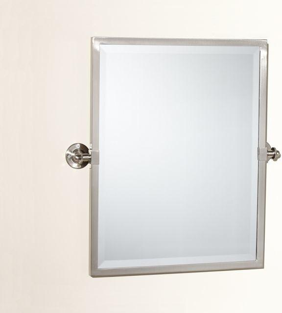 Pivoting Mirror Bathroom  Kensington Pivot Mirror Traditional Bathroom Mirrors