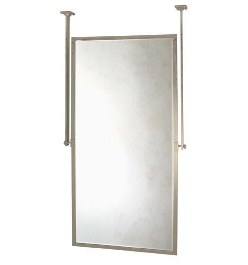 Pivoting Mirror Bathroom  Metropolitan Pivoting Mirror [Ceiling Mounted] Urban