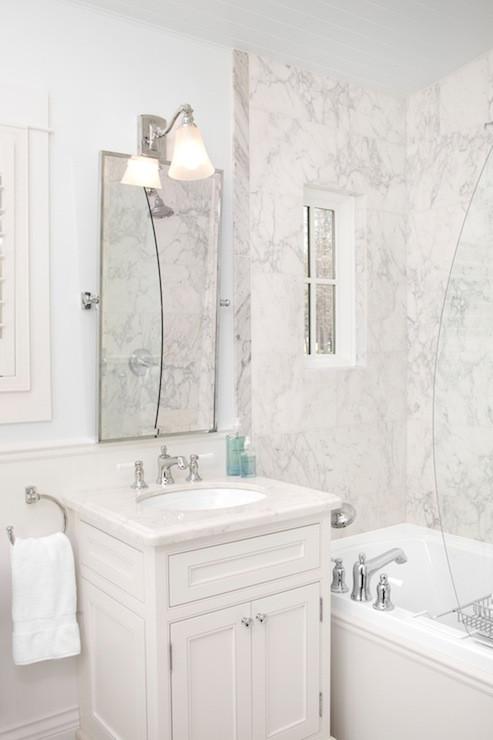Pivoting Mirror Bathroom  Rectangular Pivot Mirror Traditional bathroom Jodi