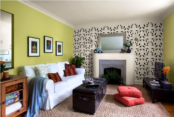 Popular Living Room Wall Colors  Best Paint Color for Accent Wall in Living Room