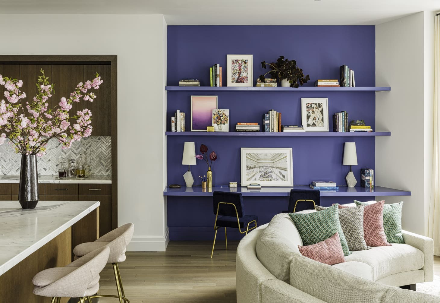 Popular Living Room Wall Colors  The Best Blue Living Room Wall Colors According to Real