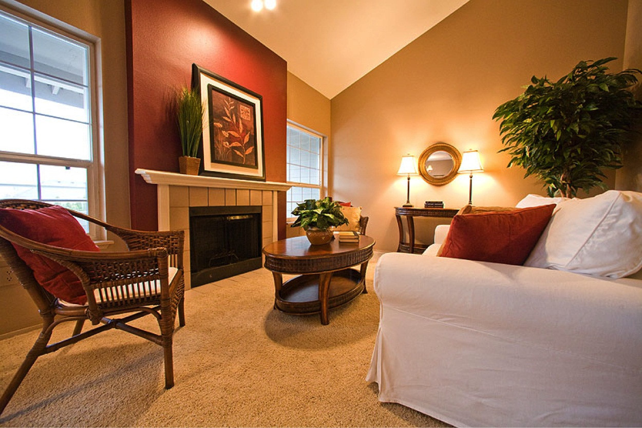 Popular Living Room Wall Colors  Burgundy Living Room Color Schemes