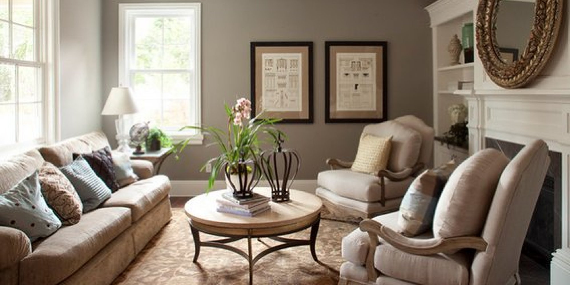 Popular Living Room Wall Colors  The 6 Best Paint Colors That Work In Any Home