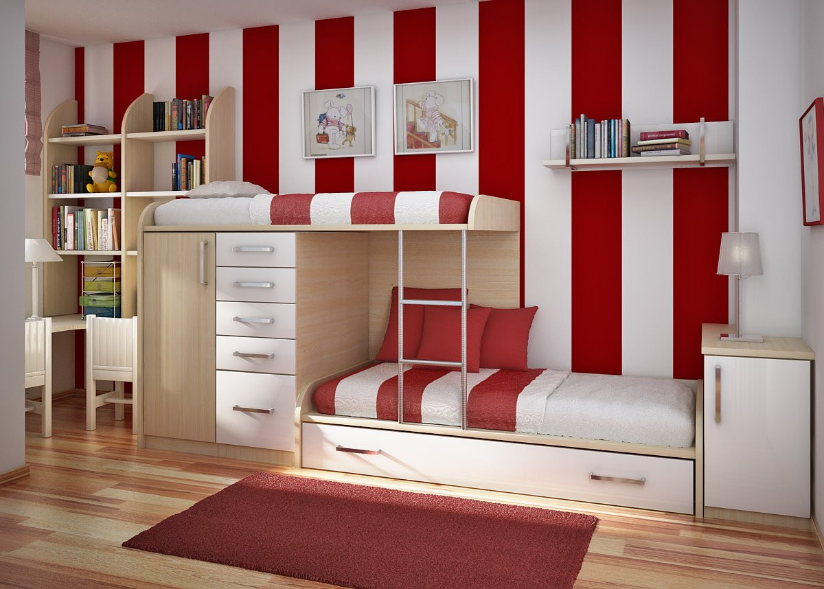 Red Kids Room  Kids Room Designs and Children s Study Rooms