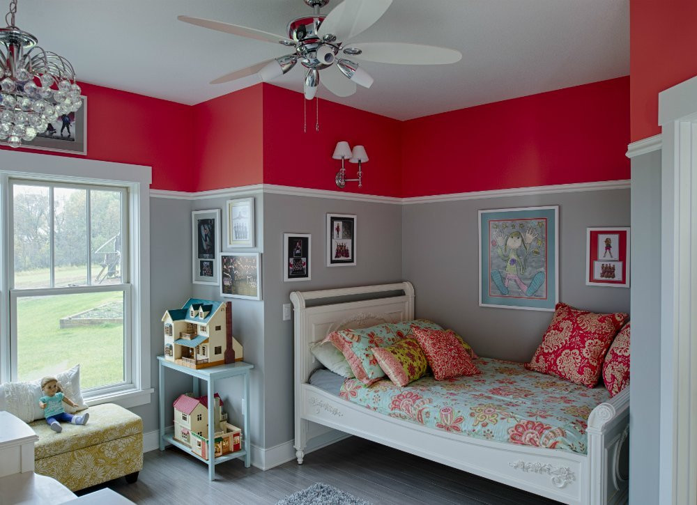 Red Kids Room  Kids Room Paint Ideas 7 Bright Choices Bob Vila
