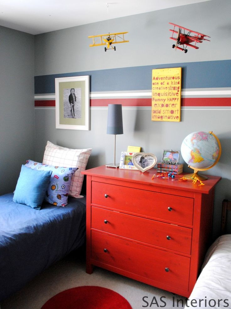 Red Kids Room  How To Choose The Right Colors For The Kids Rooms