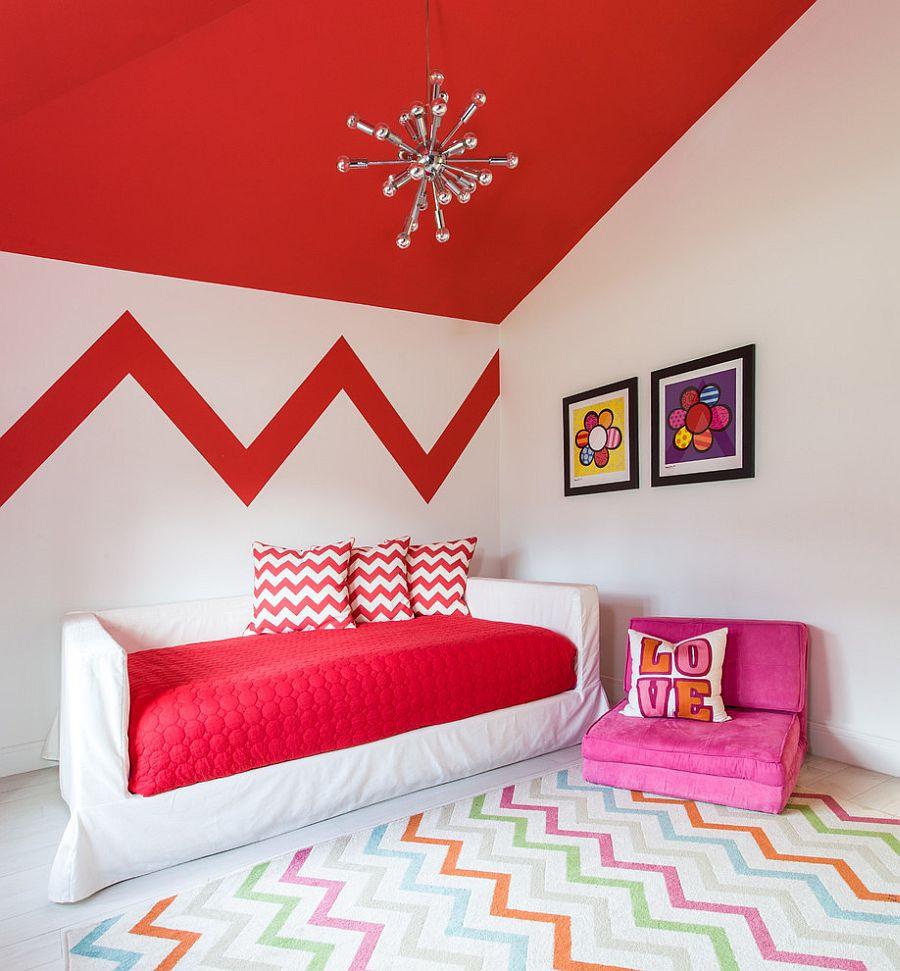 Red Kids Room  Fiery and Fascinating 25 Kids Bedrooms Wrapped in Shades