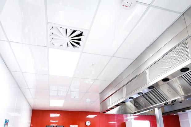 Restaurant Kitchen Ceiling Tiles  mercial kitchen ceiling tiles for high performance