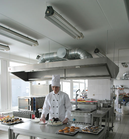 Restaurant Kitchen Ceiling Tiles  Walls and ceilings Cover ups