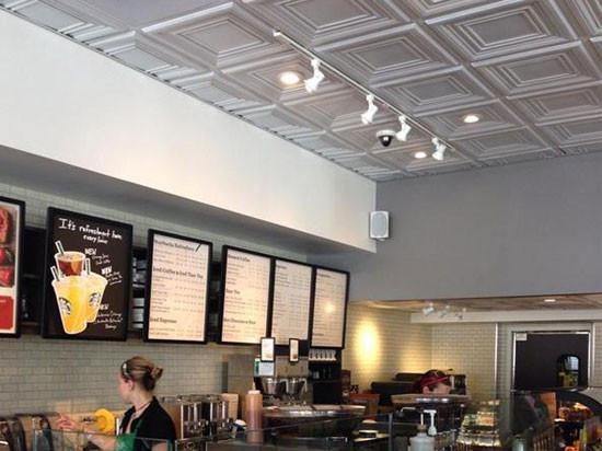 Restaurant Kitchen Ceiling Tiles  Washington Square – Faux Tin Ceiling Tile – 24″x24″ – DCT