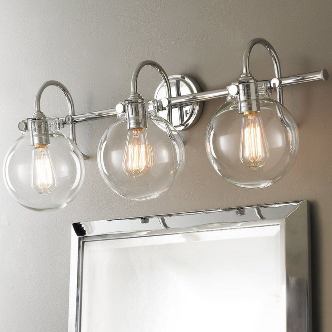 Retro Lighting for Bathrooms Fresh Retro Glass Globe Bath Light 3 Light with Images