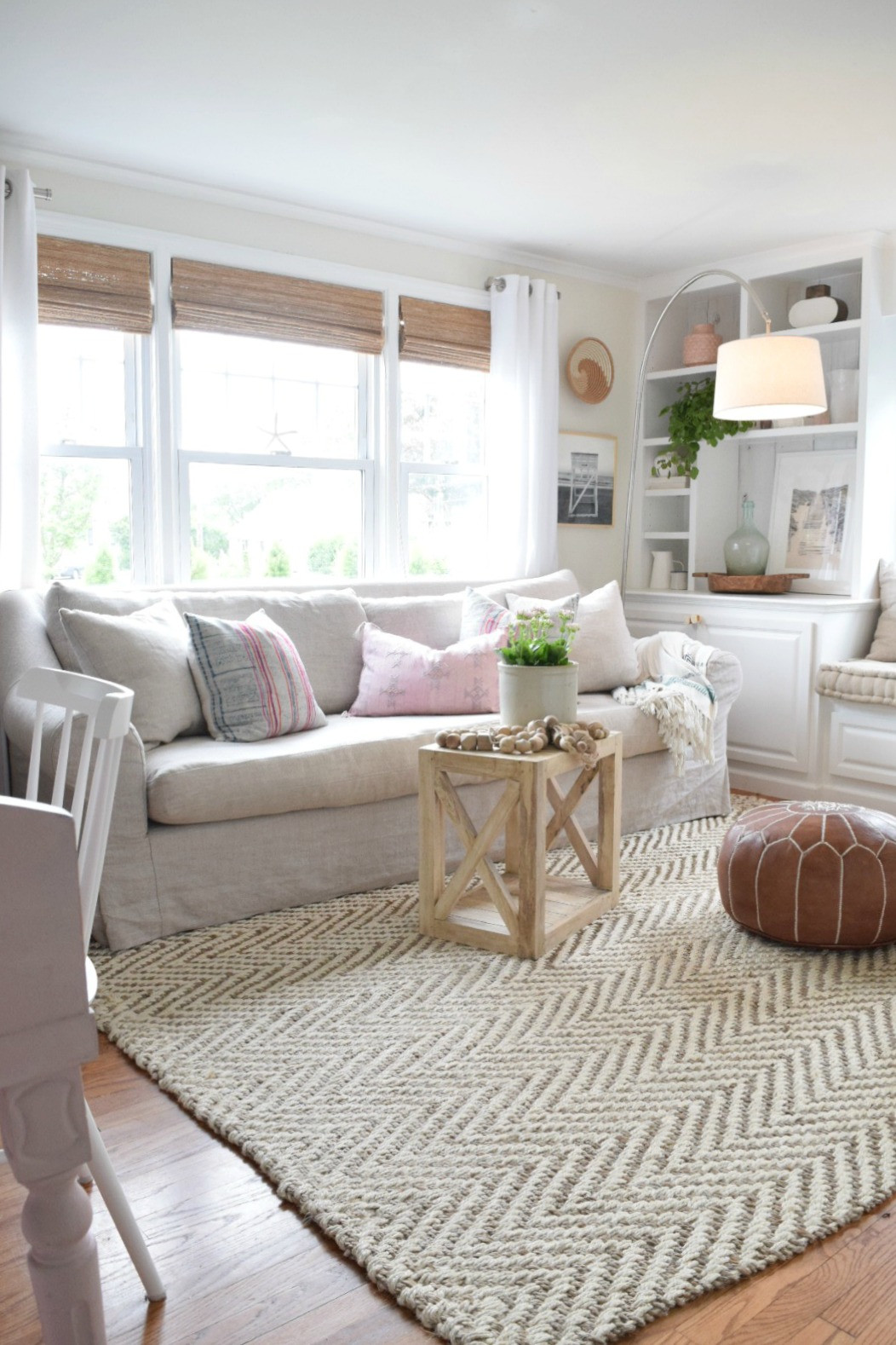 Rugs In Living Room Beautiful Jute Rug Review In Our Living Room Nesting with Grace