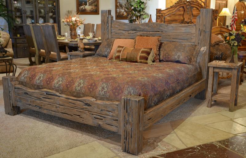 Rustic Bedroom Set King  Rustic Cabin Beds King