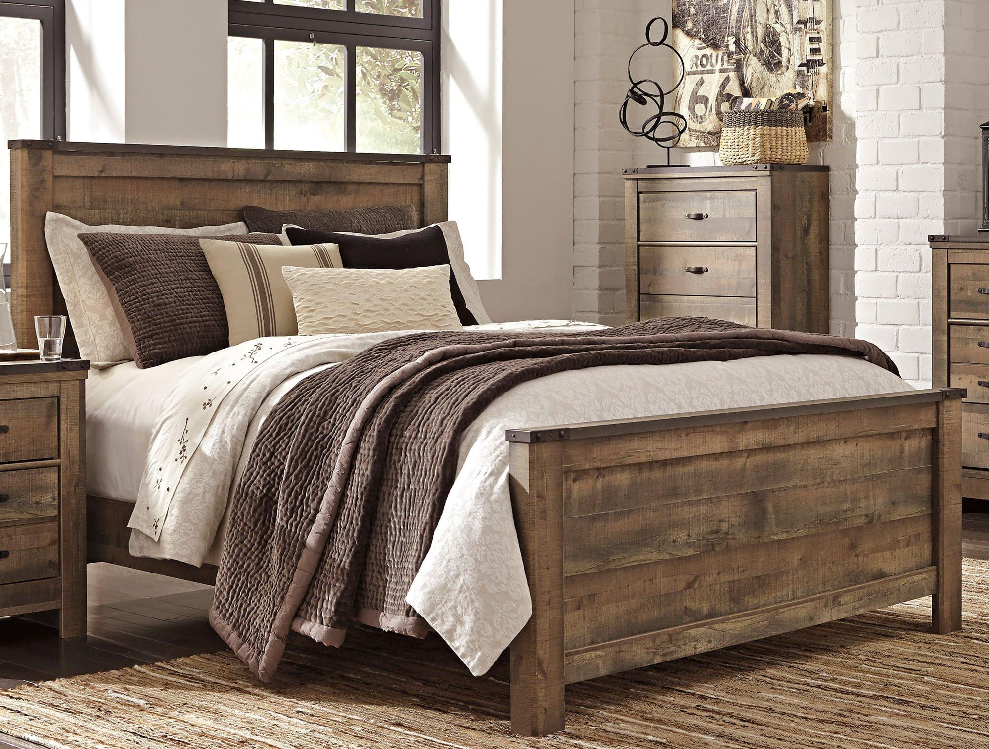 Rustic Bedroom Set King Luxury Rustic Casual Contemporary 6 Piece King Bedroom Set
