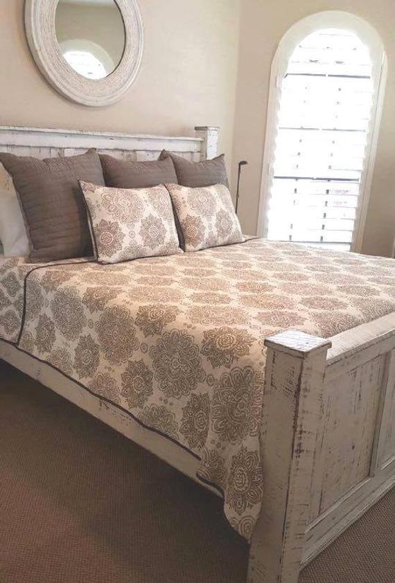 Rustic Bedroom Set King  Rustic wood bedroom set King size Queen by GriffinFurniture