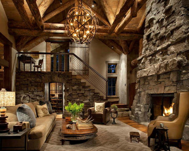 Rustic Living Room Photos  40 Awesome Rustic Living Room Decorating Ideas Decoholic