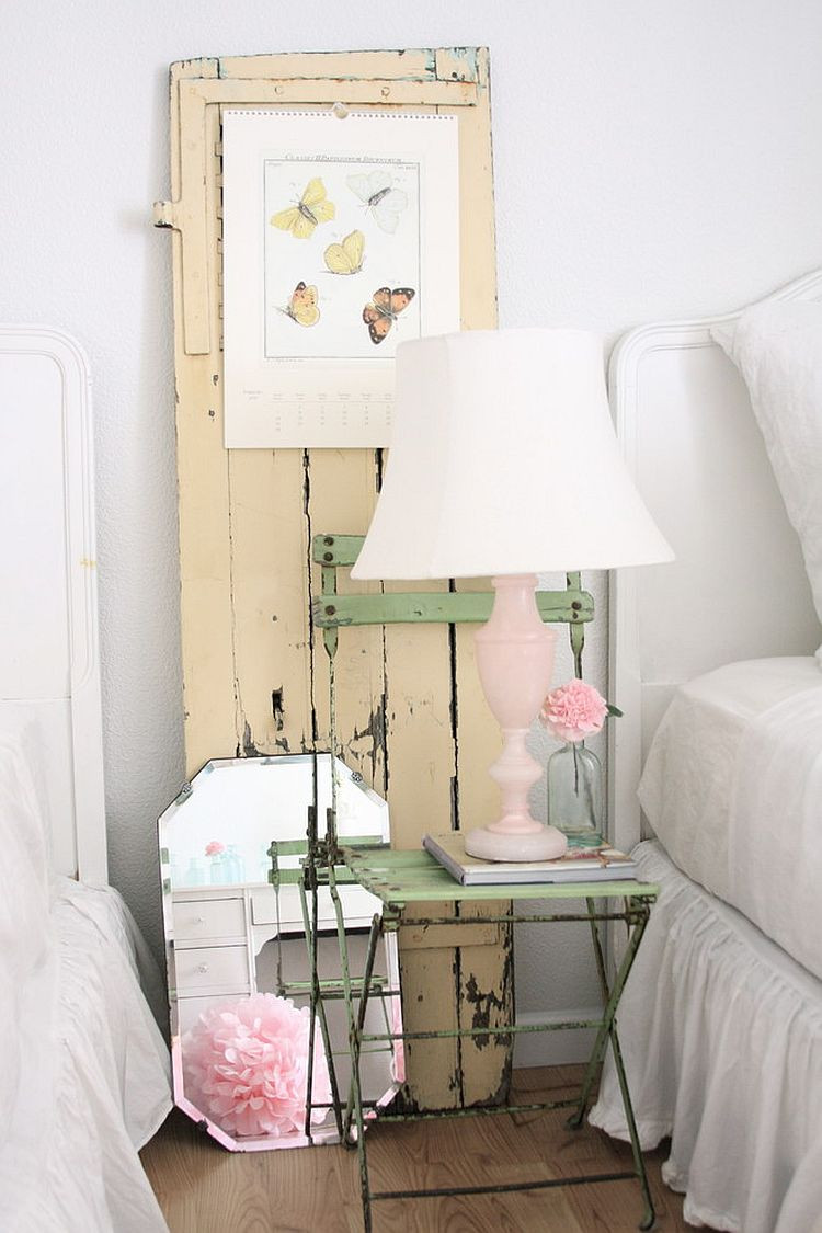 Shabby Chic Bedroom Chair  50 Delightfully Stylish and Soothing Shabby Chic Bedrooms
