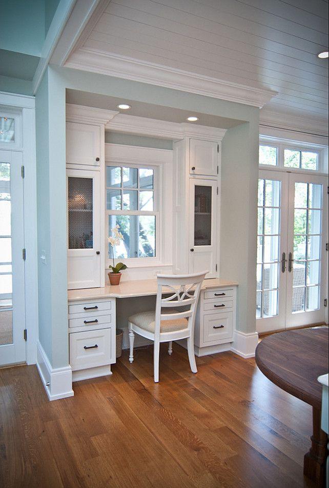 Small Kitchen Desk  30 Functional Kitchen Desk Designs