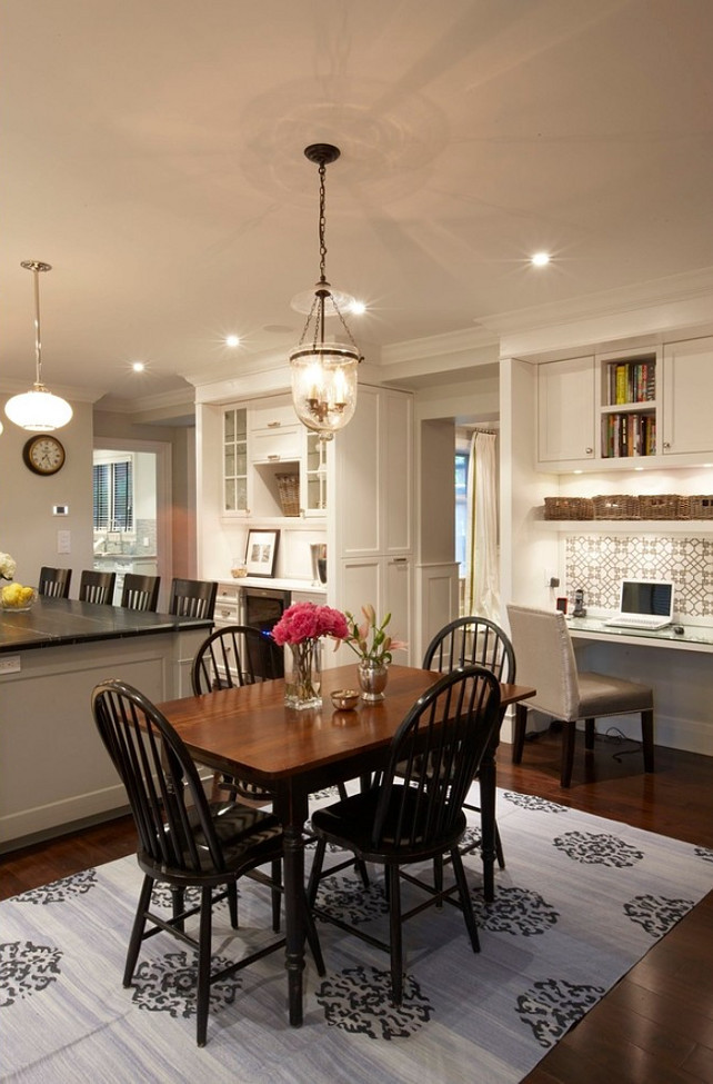Small Kitchen Desk  Storage and Design Ideas for Small Spaces Home Bunch